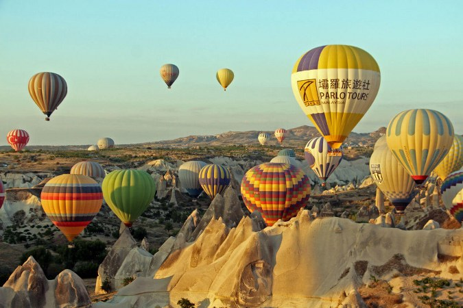 Cappadocia Hot Air Balloon Flight Deluxe