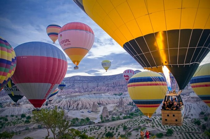 Cappadocia Hot Air Balloon Private Rides